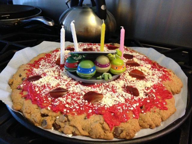 Super 11 Tmnt Pizza Cakes Ideas Photo Tmnt Pizza Birthday Cake Ninja Personalised Birthday Cards Petedlily Jamesorg