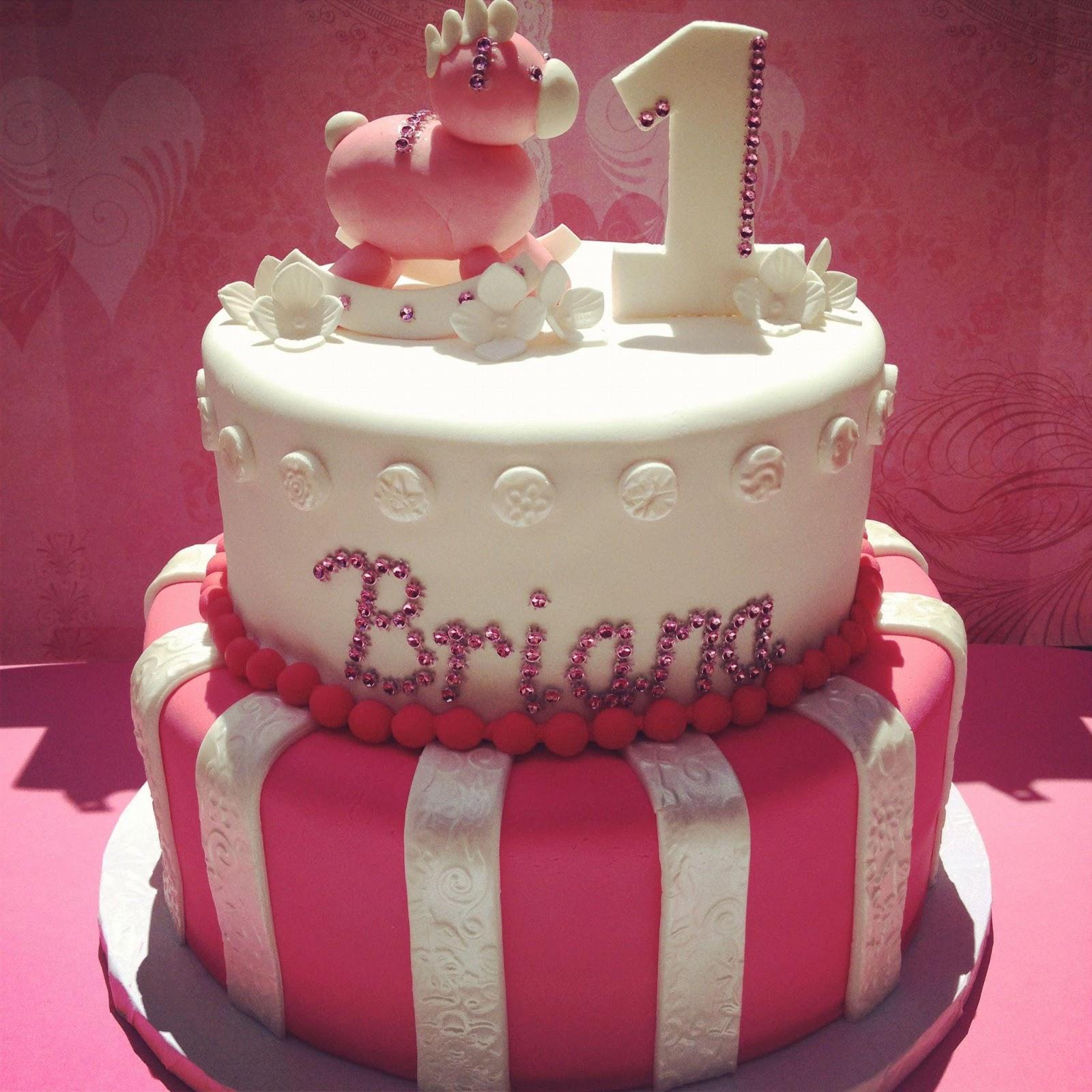 11 1 Yr Old Birthday Cakes For Girls Photo 1st Birthday Cake