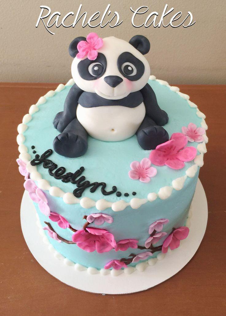 Marvelous 12 Cupcake Cakes For Girls Panda Photo Panda Bear Baby Shower Funny Birthday Cards Online Inifofree Goldxyz