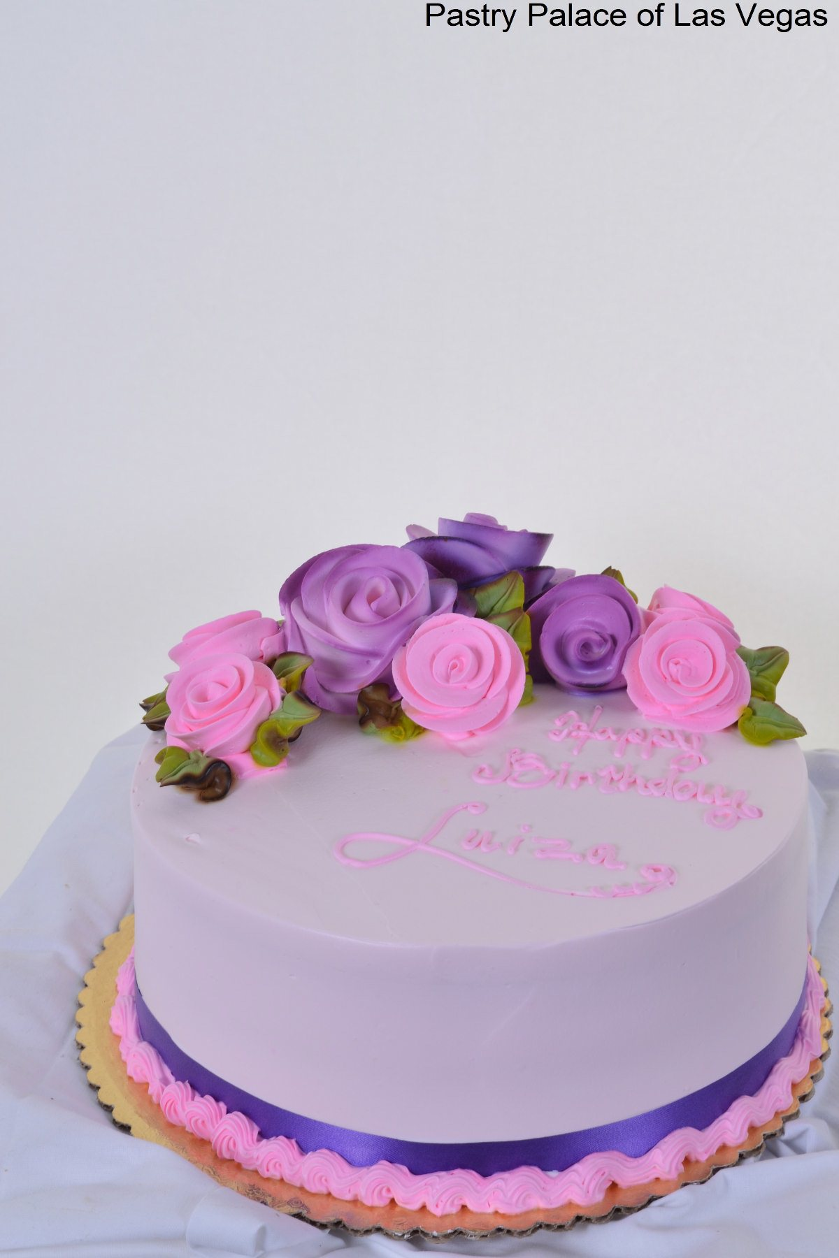 11 Birthday Cakes Pink Purple And Orange Photo Pink And Orange