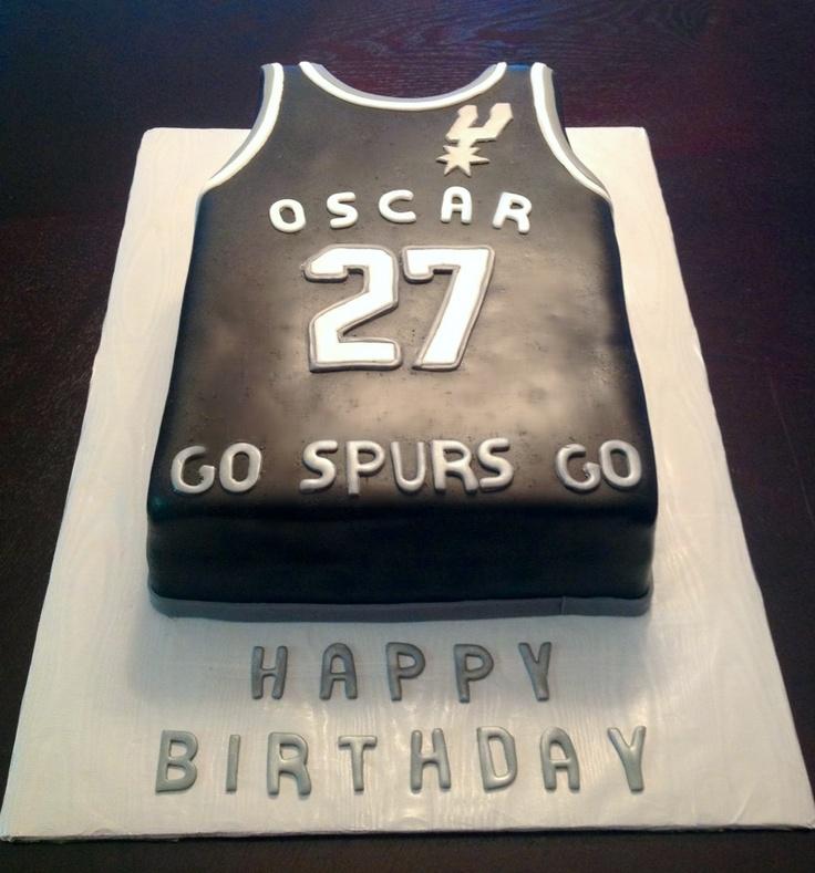12 Cakes San Antonio More Photo San Antonio Spurs Jersey Cake San