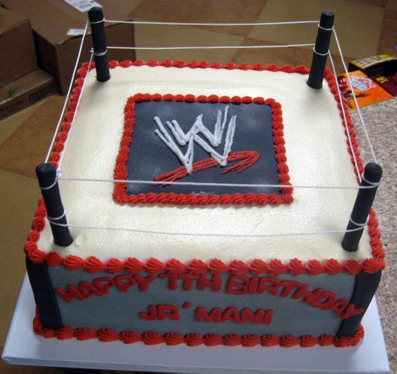 10 Wrestling Cakes For Girls Photo Wrestling Birthday Cake
