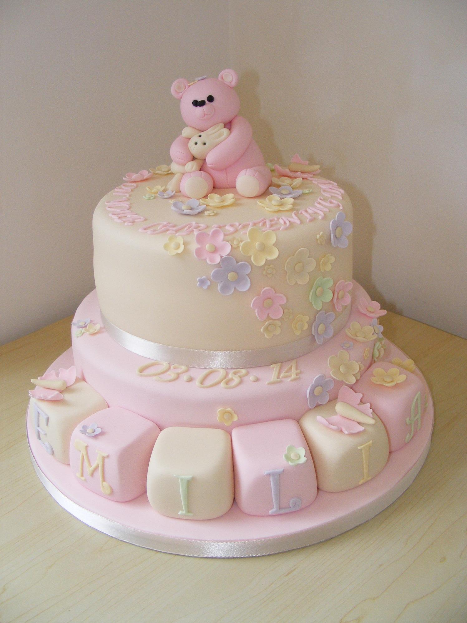 10 unique christening cakes for girls photo baptism christening