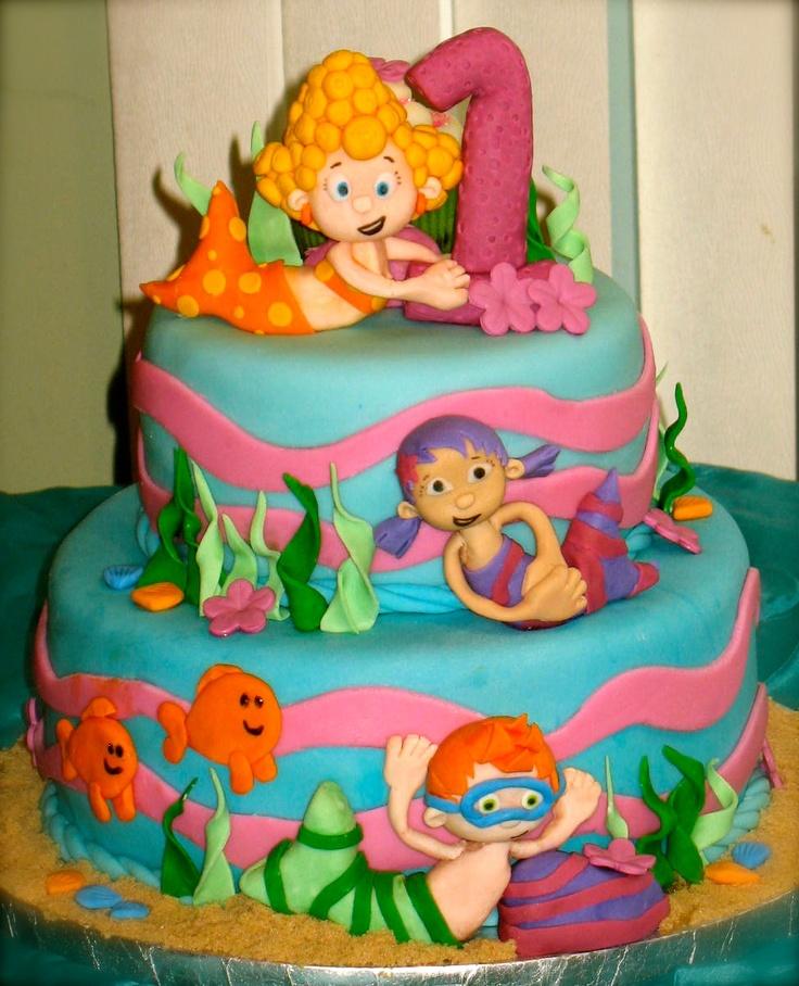 Fantastic 13 Bubble Guppies Birthday Cakes For Girls Photo Bubble Guppies Funny Birthday Cards Online Hetedamsfinfo