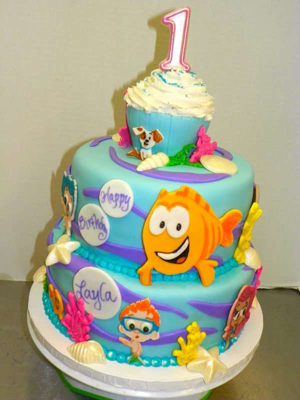 Surprising 13 Bubble Guppies Birthday Cakes For Girls Photo Bubble Guppies Birthday Cards Printable Trancafe Filternl