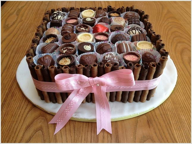 9 Like Is Like A Box Of Chocolates Cakes Photo Chocolate Box Cake