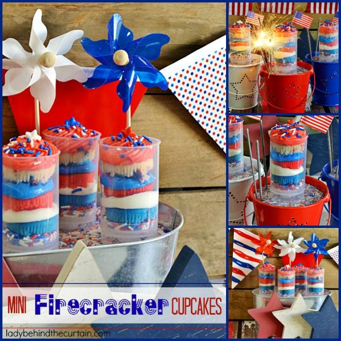 Cupcake with a Firecracker
