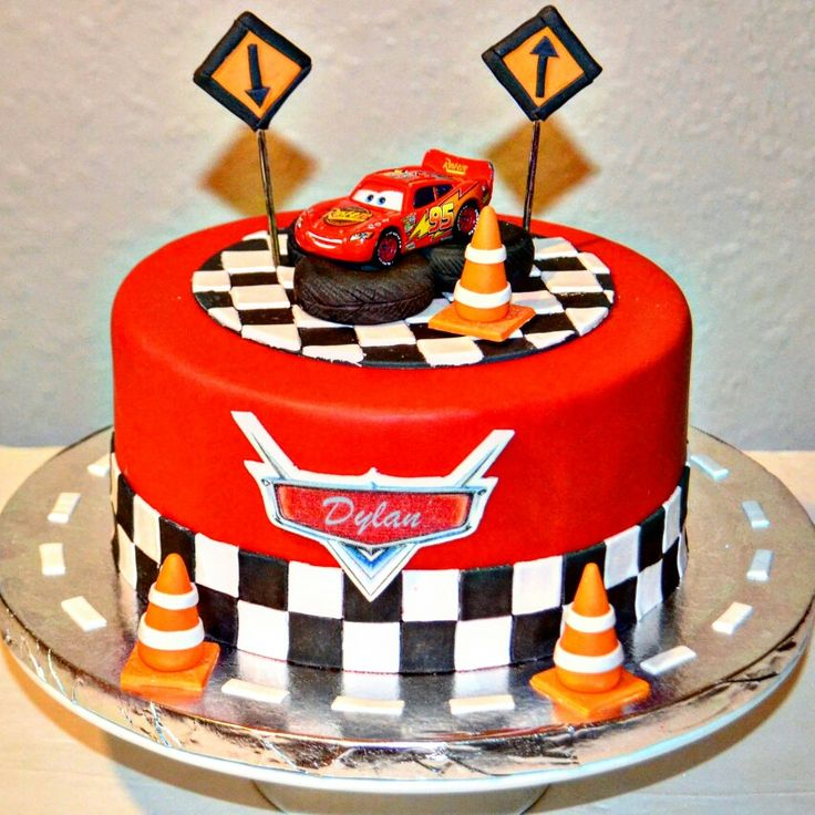 Tremendous 11 Disneys Car Themed Cakes Flat Photo Cars Birthday Sheet Cake Birthday Cards Printable Inklcafe Filternl