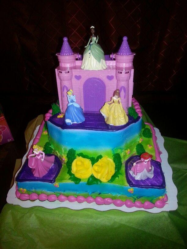 Disney Princess Birthday Cake Walmart