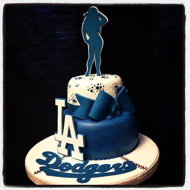 Dodger Happy Birthday Cake