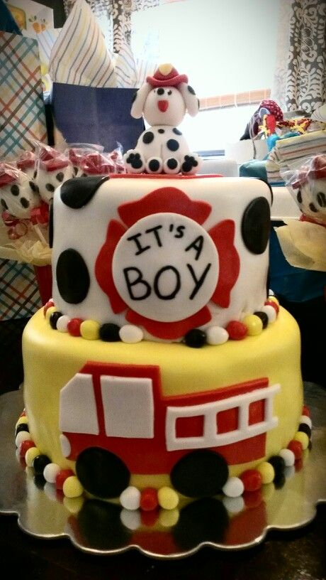 Firefighter Baby Shower Theme