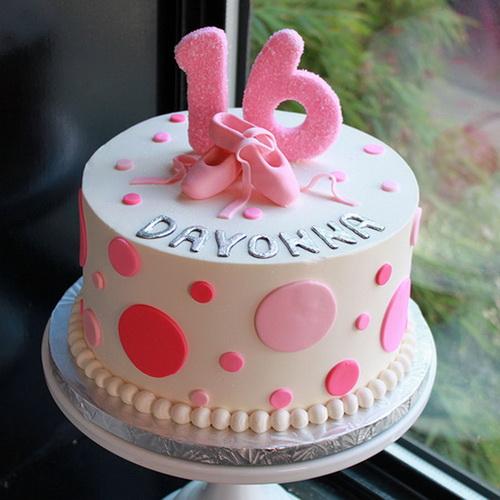 Pleasant 9 16 Birthday Cakes For Teenage Girls Photo Blue Girl Birthday Personalised Birthday Cards Veneteletsinfo