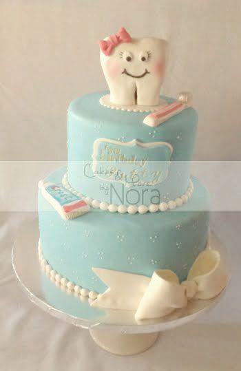 Happy Birthday Dentist Cake