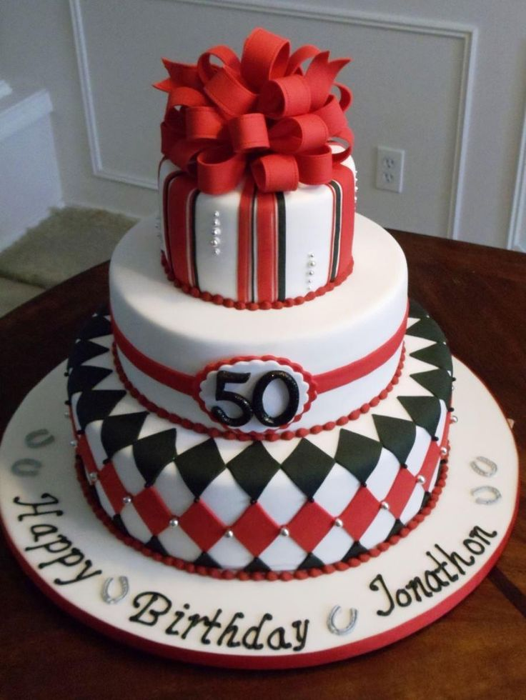 Man 50th Birthday Cake Ideas