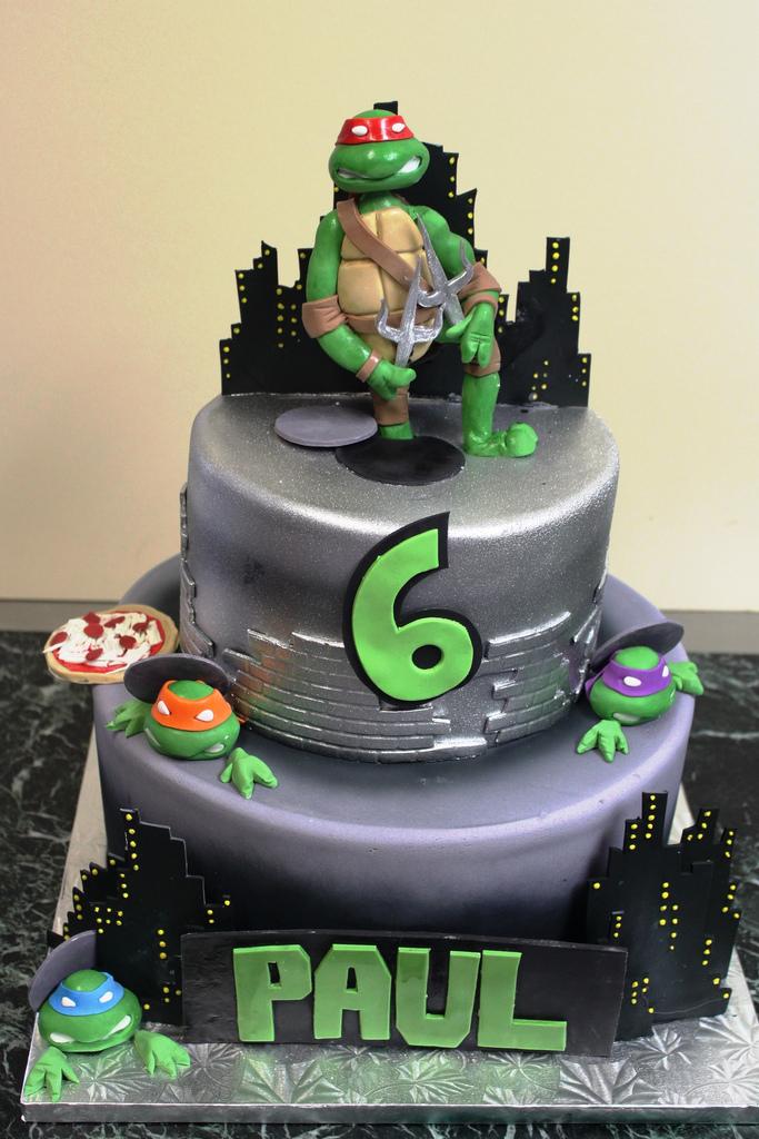 10 Ninja Turtle Cakes At Publix Photo Teenage Mutant