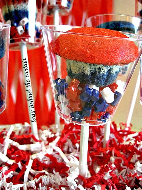 Patriotic Mini-Cupcakes