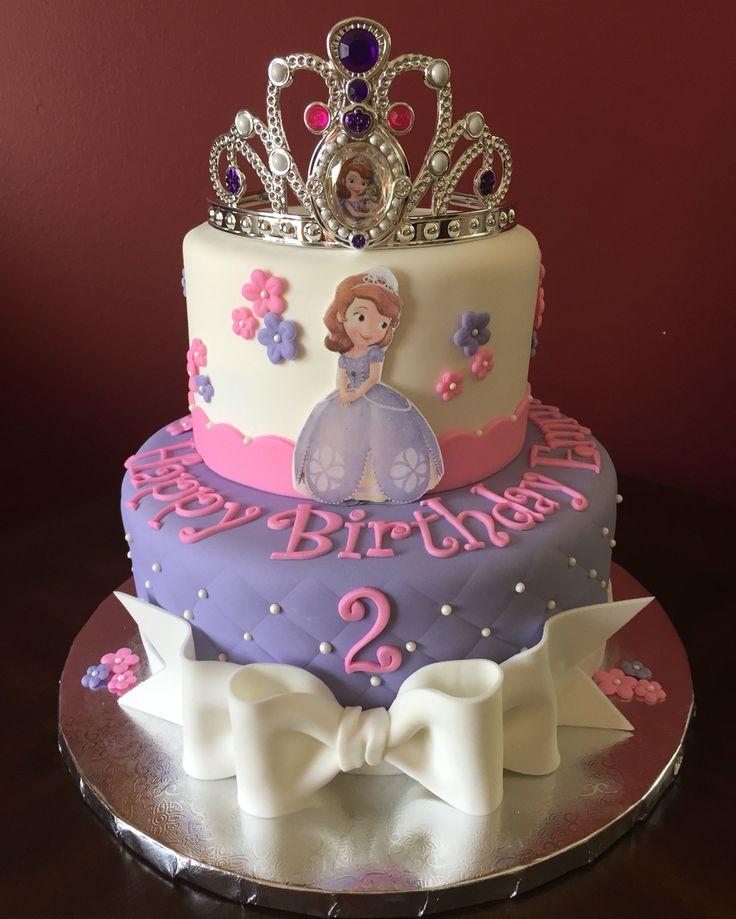 Tremendous 11 Sofia Birthday Cakes For Women 30 Photo Princess Sofia Birthday Cards Printable Trancafe Filternl