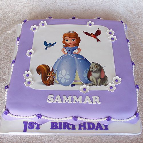 Awe Inspiring 11 Sofia Birthday Cakes For Women 30 Photo Princess Sofia Funny Birthday Cards Online Inifodamsfinfo