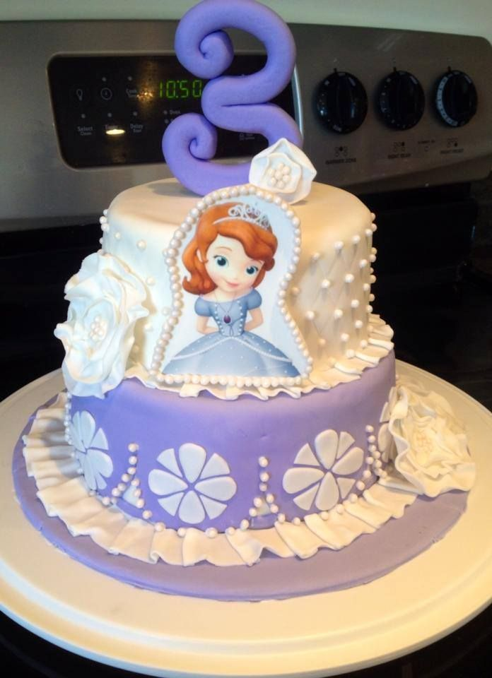 Tremendous 11 Sofia The First Cakes Pinterest Photo Sofia The First Personalised Birthday Cards Arneslily Jamesorg