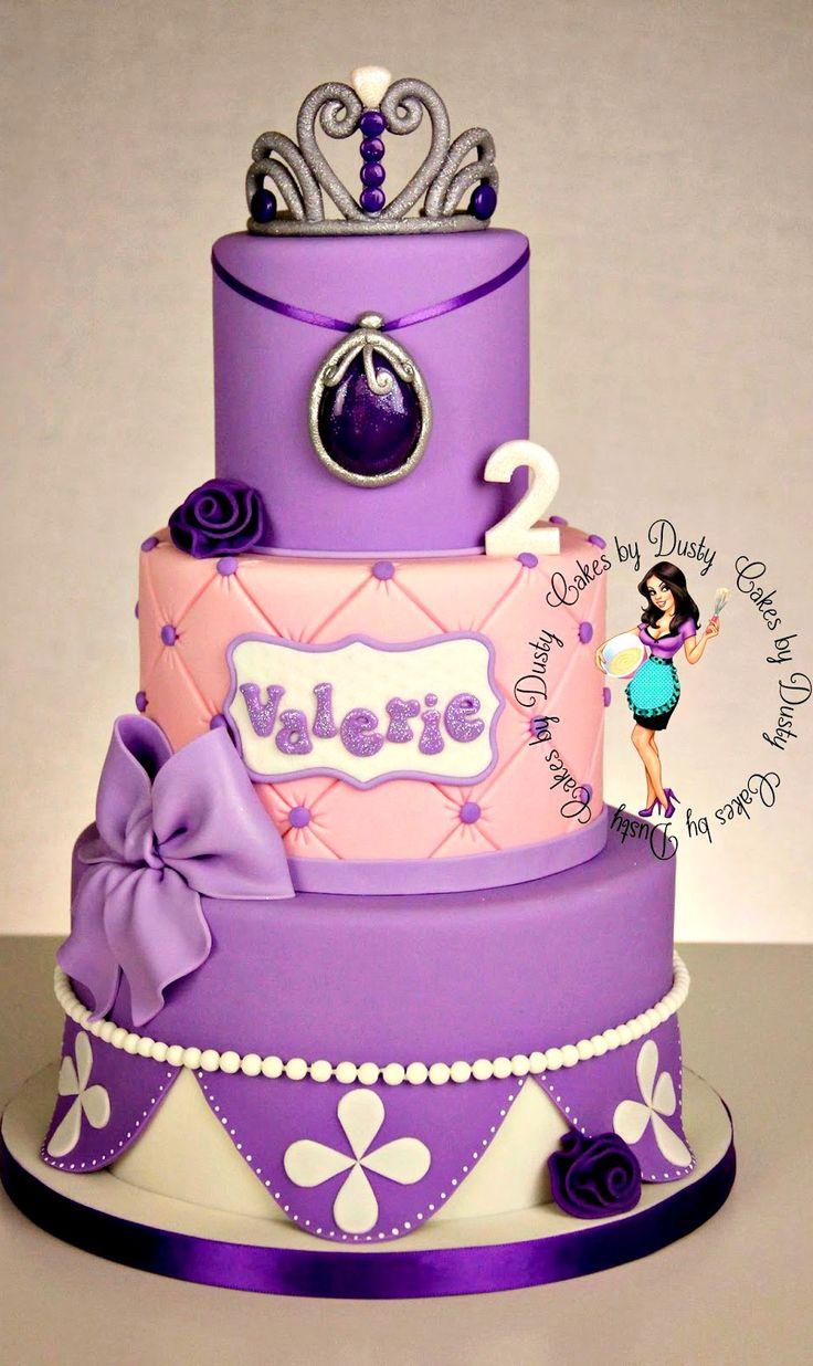 11 Sofia Birthday Cakes For Women 30 Photo Princess Sofia Birthday