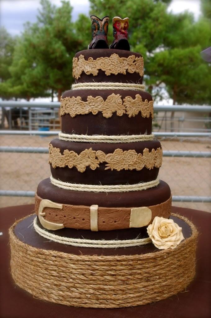 11 Western Groom S Cakes Photo - Western Wedding Cake Ideas ...