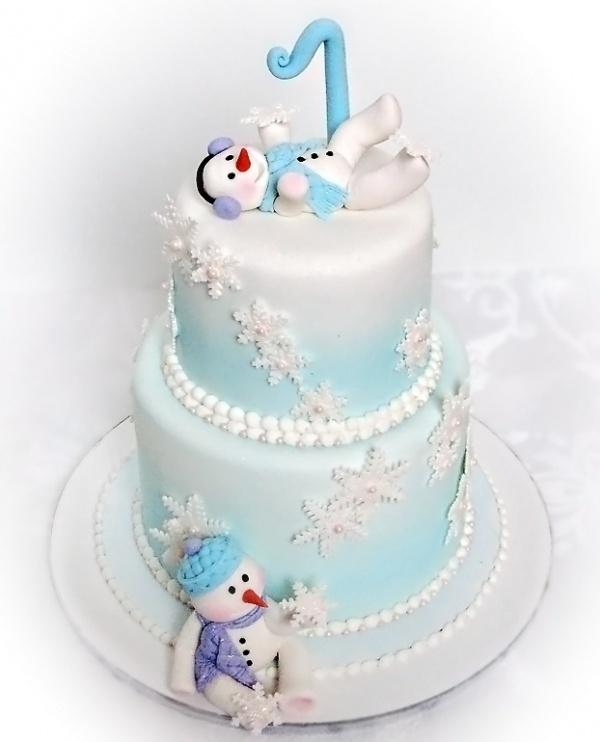 11 Winter Wonderland Birthday By Design Cakes Photo Winter