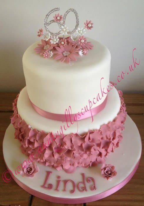 Wondrous 7 Cupcakes For 60Th Birthday Ladies Cake Photo Ladies Birthday Personalised Birthday Cards Vishlily Jamesorg
