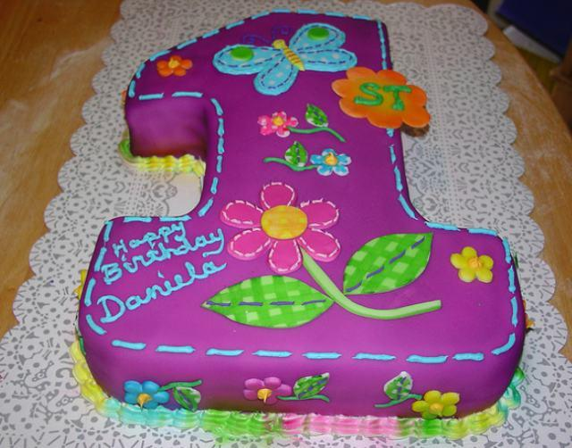 Birthday Cakes For Baby Girl ~ 9 shaped cakes for girls photo baby girl first birthday cake ideas