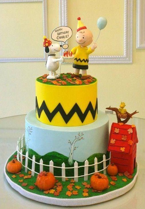 Super 10 Charlie Brown Happy Birthday Cakes Photo Charlie Brown Personalised Birthday Cards Paralily Jamesorg