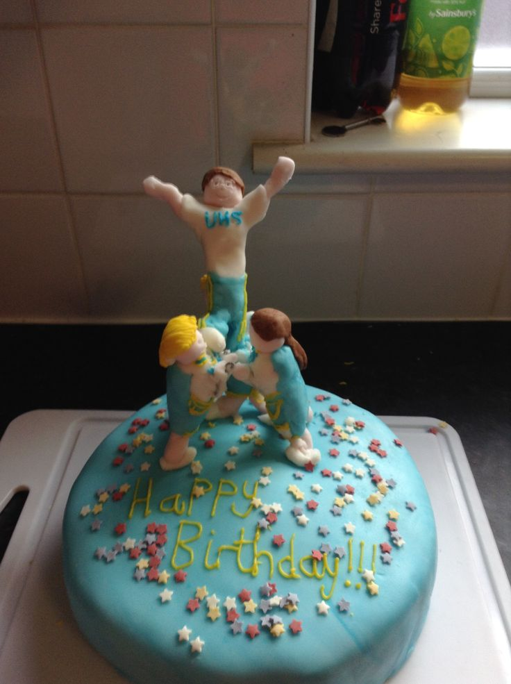 13 Find Cakes With Cheerleaders Photo Cheerleading Cheerleader