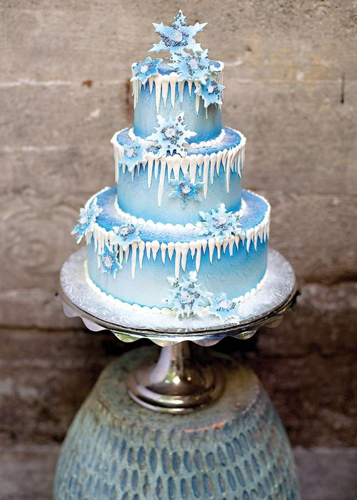 12 Winter Frozen Cakes Photo Frozen Birthday Cake Frozen Themed