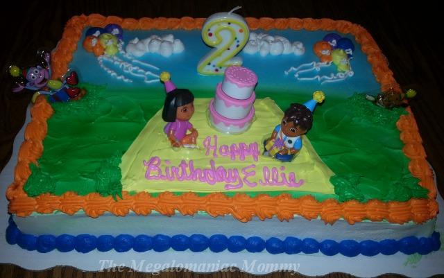 Remarkable 6 Dora The Explorer Birthday Cakes At Kroger Photo Dora The Personalised Birthday Cards Xaembasilily Jamesorg