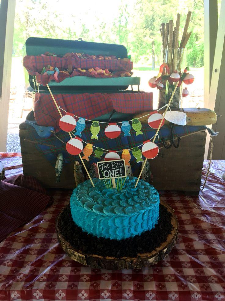 11 Birthday Cakes With Fisherman Theme Photo Fishing Birthday Cake