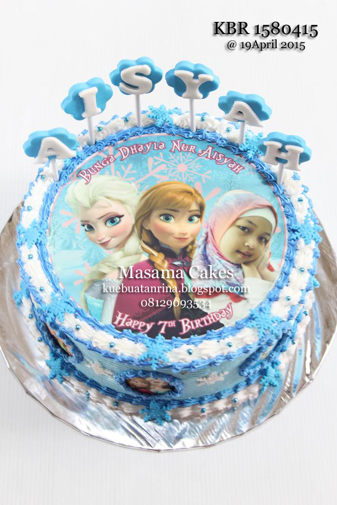 5 Frozen Edible Prints For Cakes Photo