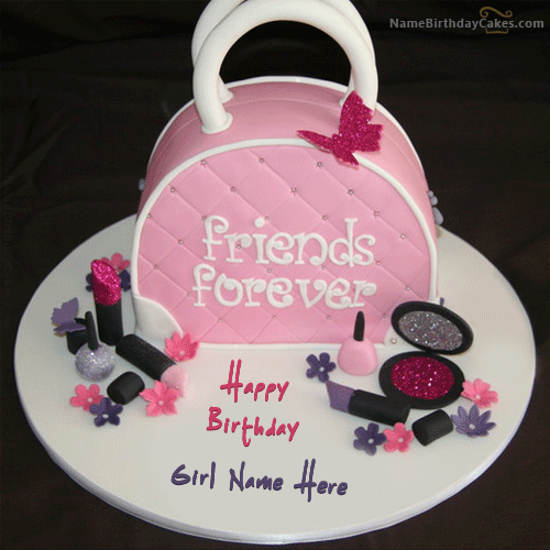 Girl Birthday Cake With Name