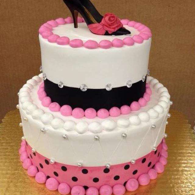 Girls 14th Birthday Cake