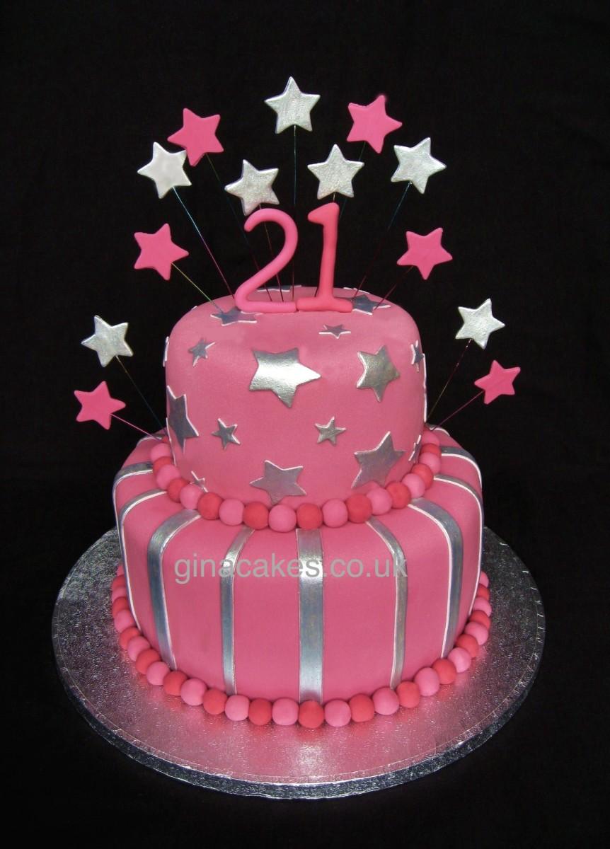 Pleasant 7 Silver Girls Birthday Cakes Photo Gold And Silver Birthday Funny Birthday Cards Online Amentibdeldamsfinfo