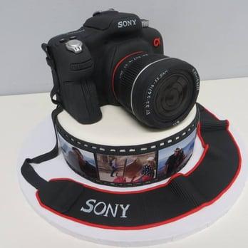 Phenomenal 8 Sony Camera Birthday Cakes Photo Camera Birthday Cake Happy Personalised Birthday Cards Vishlily Jamesorg