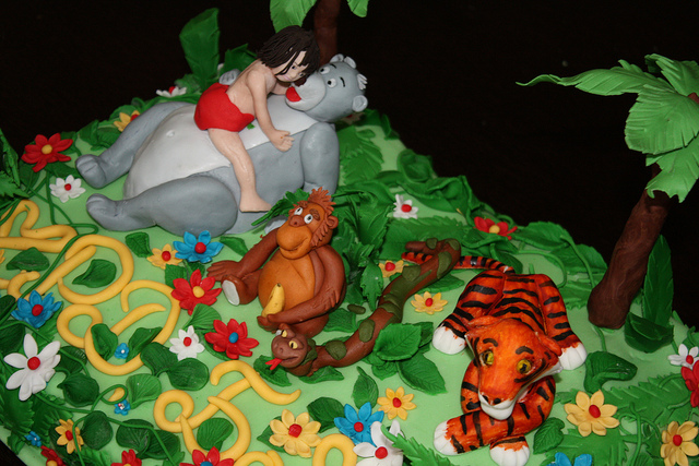 Birthday Cake Jungle Theme