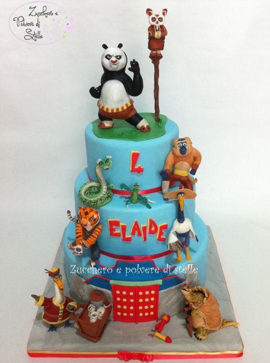 11 Amazing Kung Fu Panda Cakes Photo Kung Fu Panda Cake Kung Fu