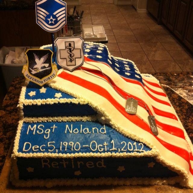 8 army retirement cakes photo navy retirement cake army