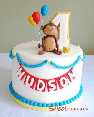 Admirable 12 Monkey Cakes For Teens Photo Monkey Birthday Cake Monkey Personalised Birthday Cards Veneteletsinfo