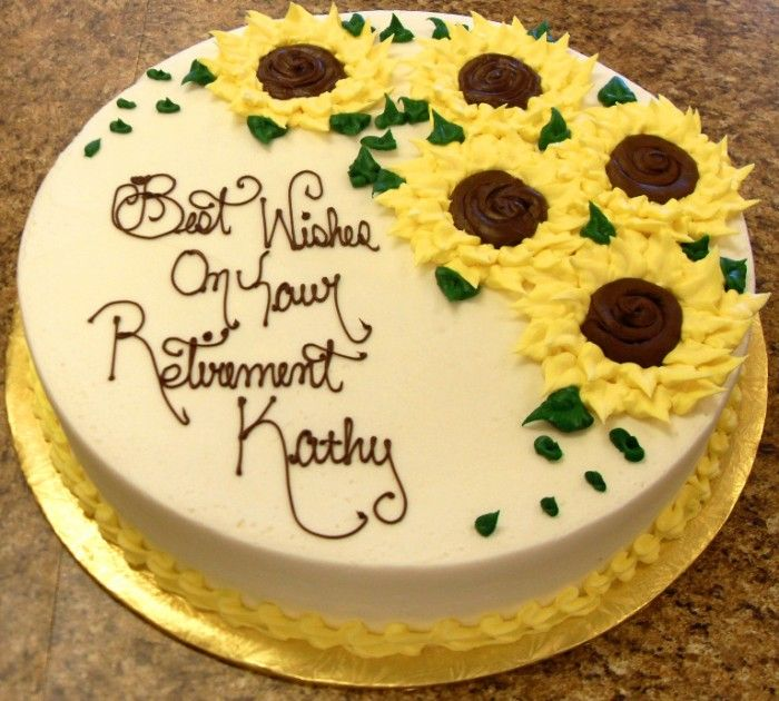 10 Retirement Cakes For Women Photo