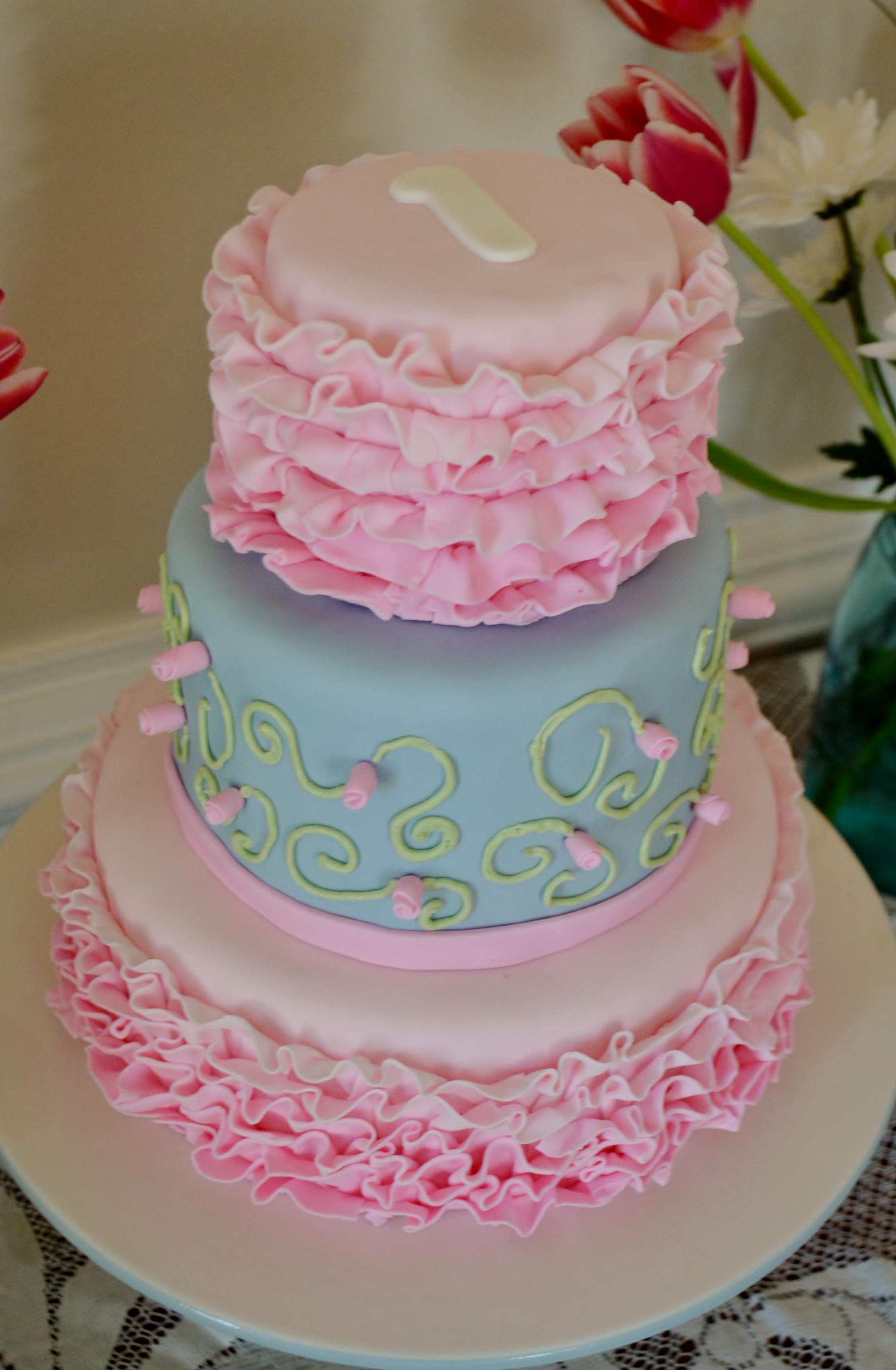 Tremendous 7 Shabby Chic Buttercream Cakes Photo Elegant Buttercream Birthday Cards Printable Inklcafe Filternl