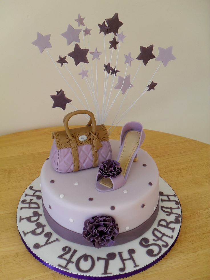 Birthday Cakes Handbags And Shoes