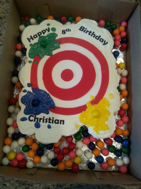 Enjoyable 9 Target Bakery Birthday Cakes Charlotte Photo Super Target Funny Birthday Cards Online Unhofree Goldxyz