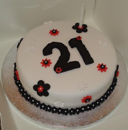 Prime 9 21St Birthday Cakes Flowers Photo Purple Flower Birthday Cake Personalised Birthday Cards Fashionlily Jamesorg