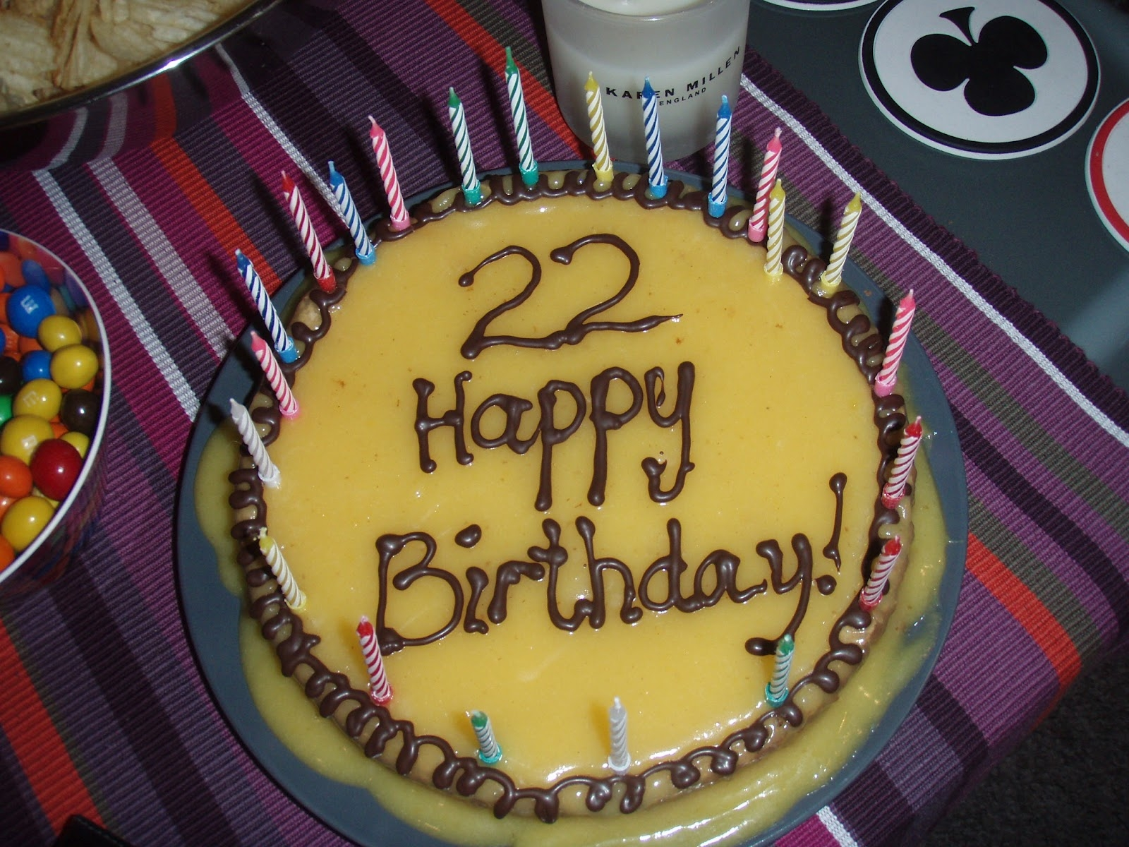 7 22nd Birthday Cakes For Girls Photo