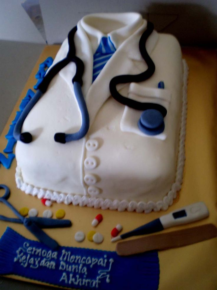 13 Funny Cakes For Doctors Photo Happy Birthday Doctor Cake