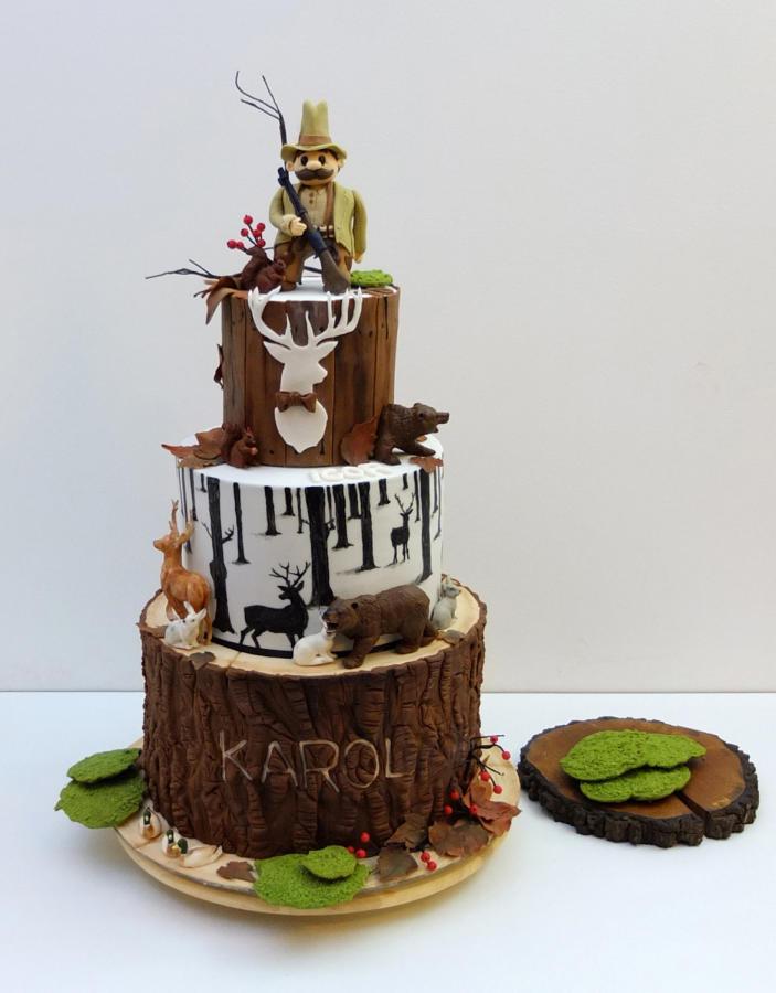 Super 10 50 Birthday Cakes For Men Hunters Photo Hunting 50Th Birthday Personalised Birthday Cards Epsylily Jamesorg